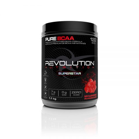 Pure BCAA 1100g Red Raspberry flavour