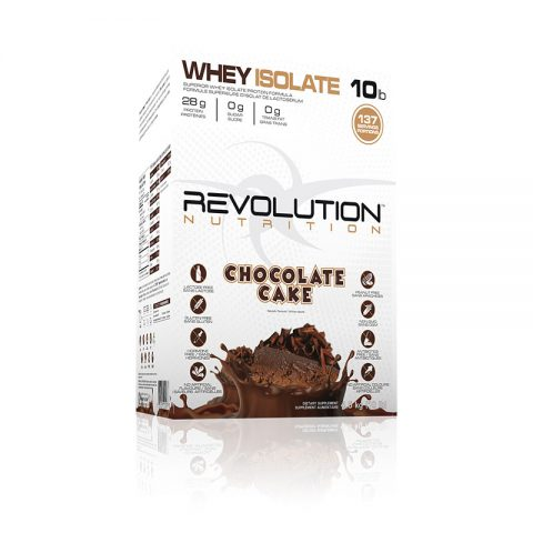 Whey Isolate Chocolate cake flavour